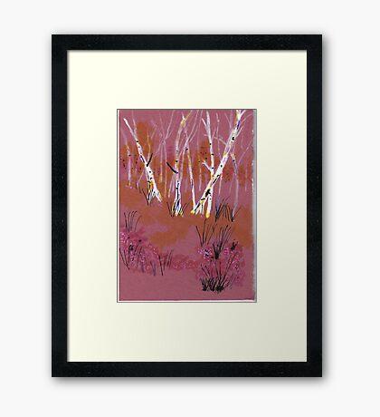 Spirit Forest Framed Print