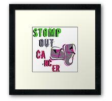 Find a cure Framed Print