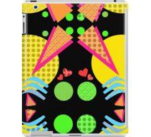 Neon New Wave Design iPad Case/Skin