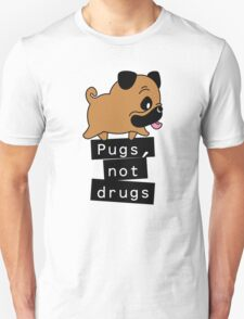 Little Pugs Not Drugs T-Shirt