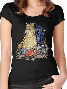 The Best Robot in the Universe Women's Fitted Scoop T-Shirt