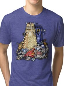The Best Robot in the Universe Tri-blend T-Shirt