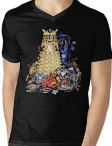 The Best Robot in the Universe Mens V-Neck T-Shirt