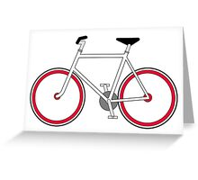 City Velo Fixé - Poster/Print/Card  Greeting Card