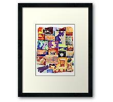 Fun Photo Collage Framed Print