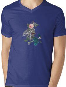 Romantic Halloween Mens V-Neck T-Shirt