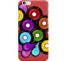 Record Romp on Red iPhone Case/Skin