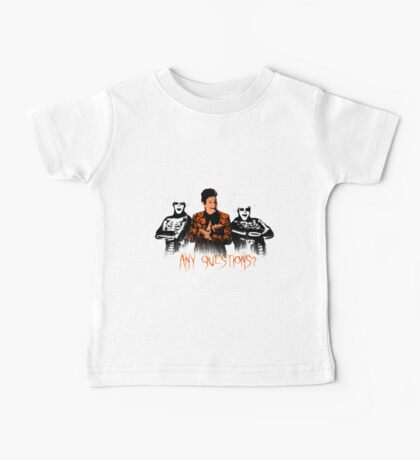 David S. Pumpkins - Any Questions? VIII Baby Tee