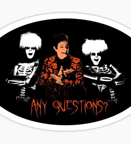 David S. Pumpkins - Any Questions? VIII - Sticker Sticker
