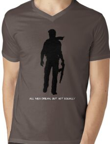 Nathan Drake (Uncharted, quote) Mens V-Neck T-Shirt