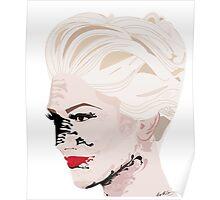 Melted Gwen Stefani Poster