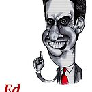 Ed Miliband by Iddoggy