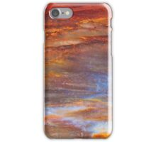 Petrified Wood Abstract iPhone Case/Skin