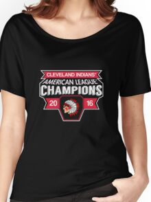 Cleveland Indians Champions World Series 2016 Women's Relaxed Fit T-Shirt