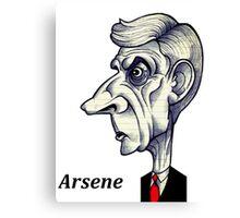 Arsene Wenger Canvas Print