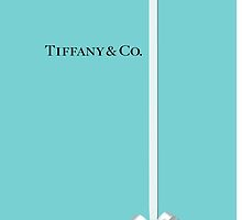 Tiffany & Co. Classic Blue Box with Ribbon by Everett Day