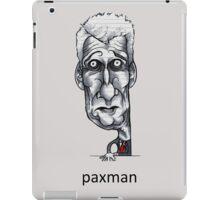 Paxman iPad Case/Skin