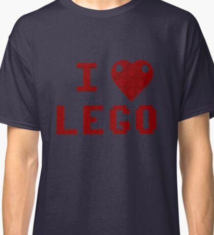 I Love Lego Classic T-Shirt