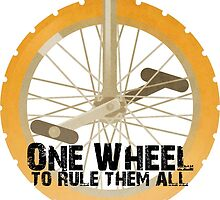 One Wheel to Rule Them All by Adam Sanford