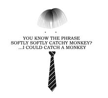 Gareth Keenan - I could catch a monkey by Leopard