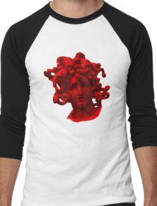 Red Medusa Men's Baseball ¾ T-Shirt