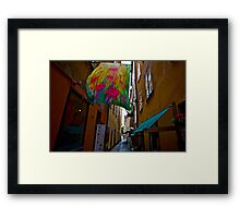 Stockholm - Gamla Stan. Sweden. by Doctor Andrzej Goszcz. Has been sold ! Sales: 2. Views: 1209 .  Framed Print