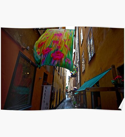 Stockholm - Gamla Stan. Sweden. by Doctor Andrzej Goszcz. Has been sold ! Sales: 2. Views: 1209 .  Poster