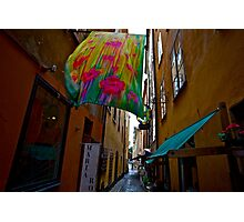 Stockholm - Gamla Stan. Sweden. by Doctor Andrzej Goszcz. Has been sold ! Sales: 2. Views: 1209 .  Photographic Print