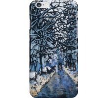 Winter ice and snow. Trees in snow.  iPhone Case/Skin