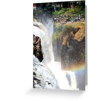 Patterson Falls Greeting Card