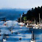 Brentwood Bay  by marcwellman2000