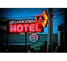 Motel Inn Color Photographic Print