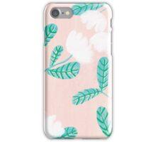 Pale Pink Botanica iPhone Case/Skin