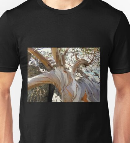 Unique Snow Gum, Charlottes Pass, Snowy Mountains, NSW, Australia. Unisex T-Shirt