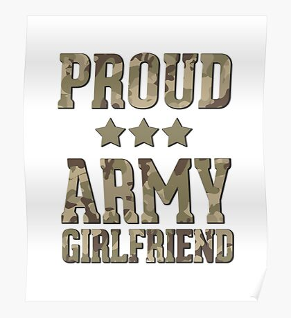 Proud Army Girlfriend  Poster