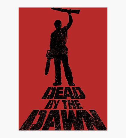 DEAD BY THE DAWN Photographic Print