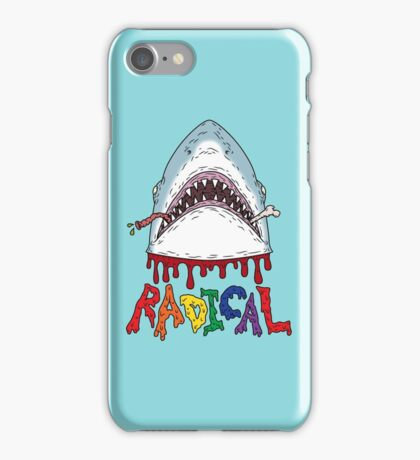 Radical, dude. iPhone Case/Skin