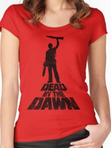 DEAD BY THE DAWN Women's Fitted Scoop T-Shirt