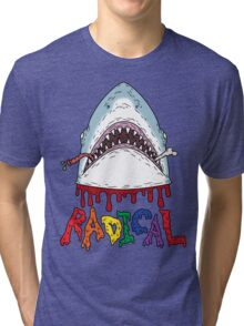 Radical, dude. Tri-blend T-Shirt