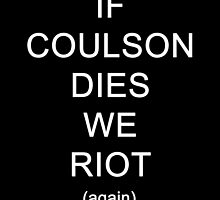 If Coulson dies (again) by thelifeiknew