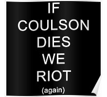 If Coulson dies (again) Poster