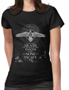 Get! Fear not the Death - Valhalla Collection Womens Fitted T-Shirt