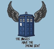 The Angels Have the Phone Box - Doctor Who Kids Clothes