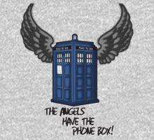 The Angels Have the Phone Box - Doctor Who One Piece - Short Sleeve