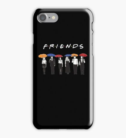 Friends Tv Show Logo  - Awesome Design iPhone Case/Skin