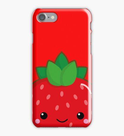 Kawaii strawberry iPhone Case/Skin
