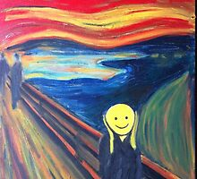 The Smile (The Scream, after Munch) by William Wright