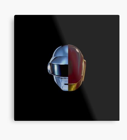 Daft Punk helmets Metal Print