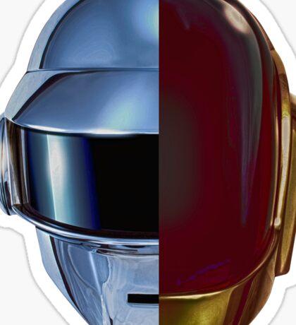 Daft Punk helmets Sticker