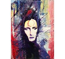 David Bowie Ziggy Stardust painting Photographic Print